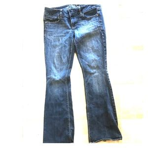 American Eagle stretch blue jeans